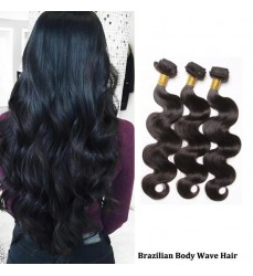 DHL Free Shipping 100 Virgin Brazilian Body Wave Hair 3 Bundle Deals on Sale