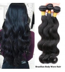 Top Selling 100 Virgin Brazilian Body Wave Hair